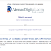 Nuevo boletín semanal de AtenasDigital.com