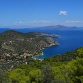 Vista desde el templo de Poseidón