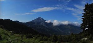 La montaña Dirfys