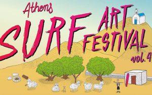 Surf Art Festival en Atenas